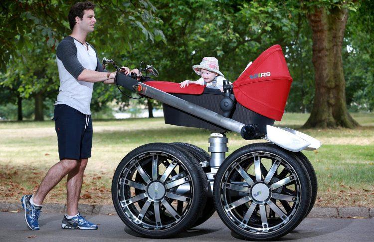 oryginalny wózek dziecięcy