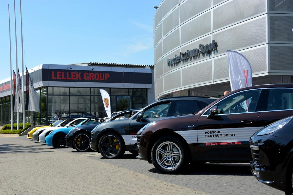Porsche Road Tour Sopot