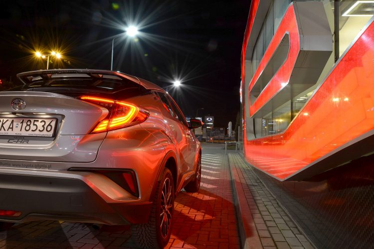 Toyota C-HR 1,2 turbo