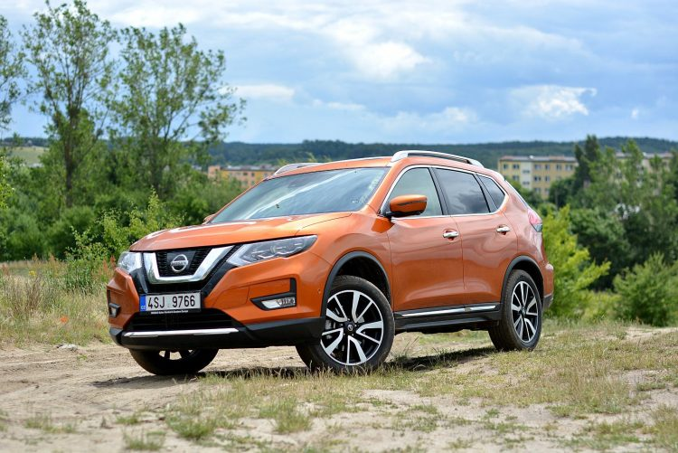 Test Nissan X-trial