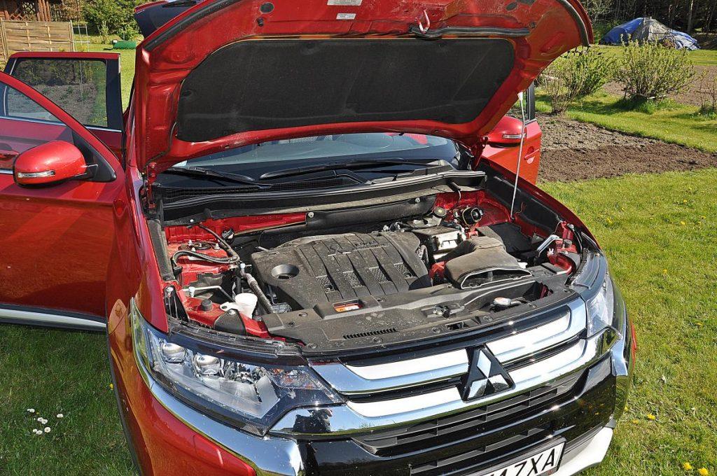 Test Mitsubishi Outlander