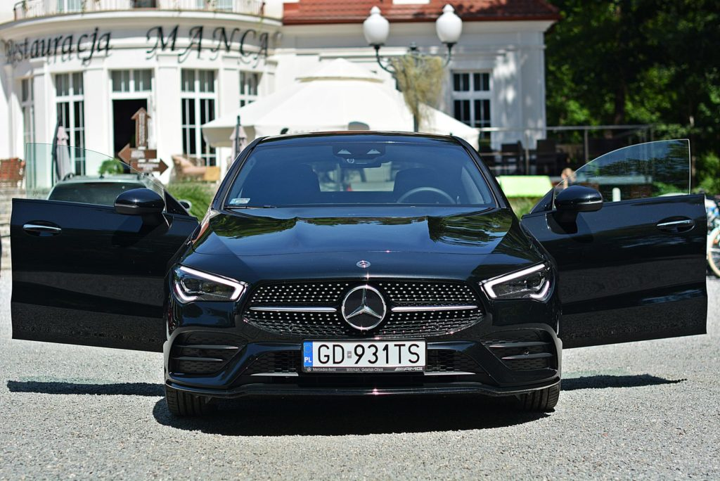 Test Mercedesa CLA