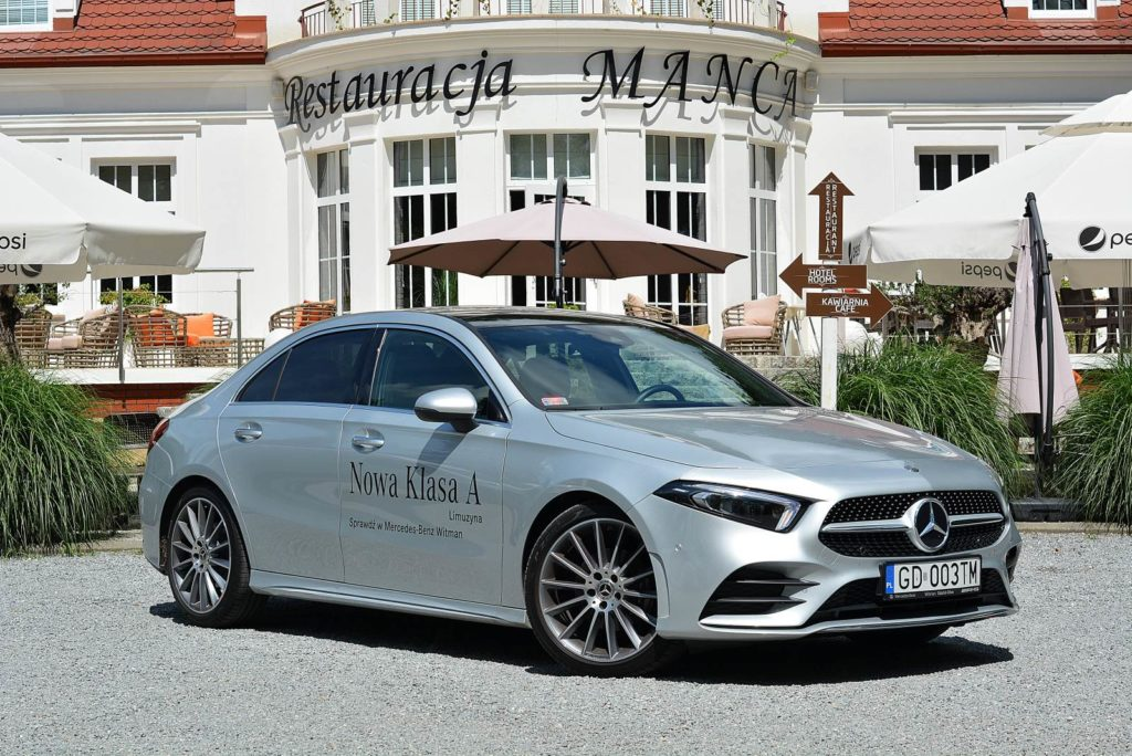 Test Mercedesa Klasy A limuzyna