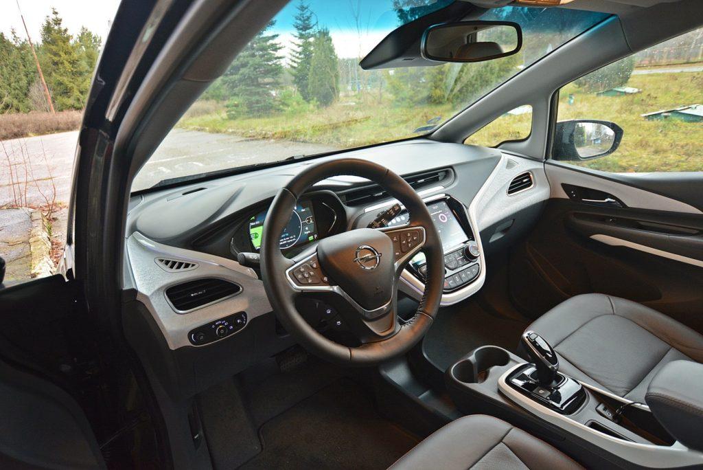 Test Opel Ampera-e