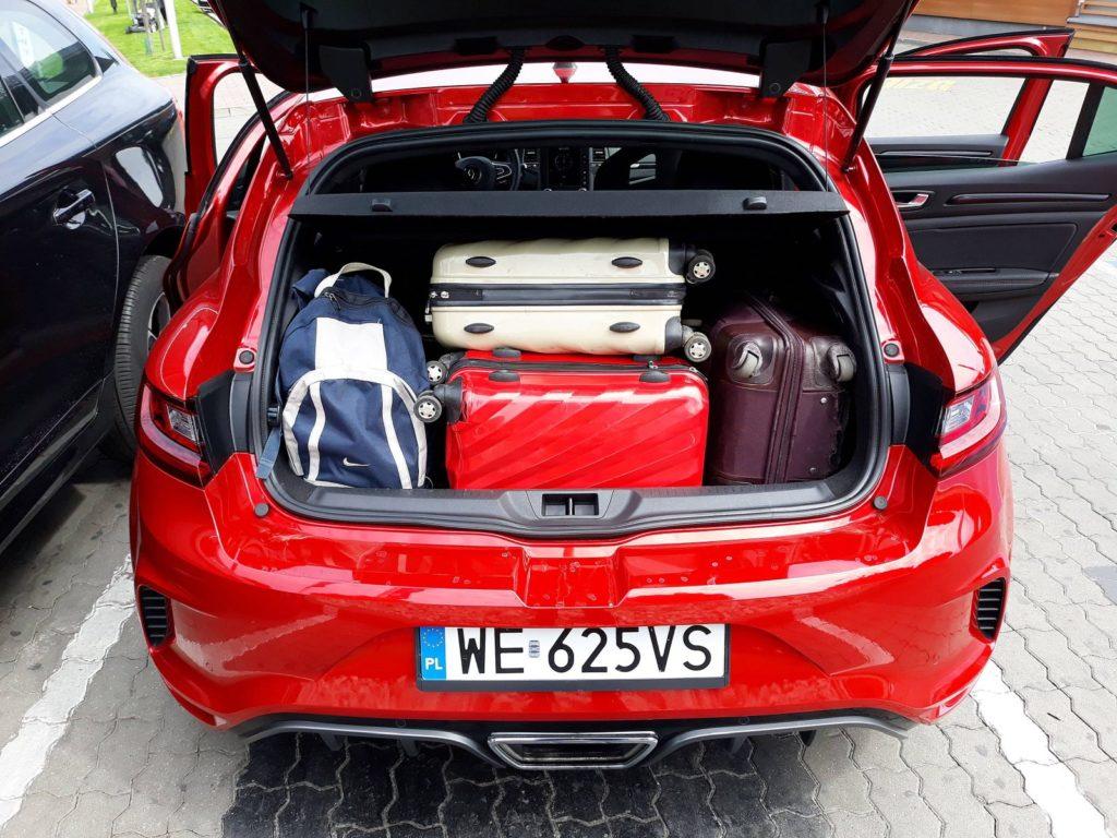 Bagażnik Renault Megane RS