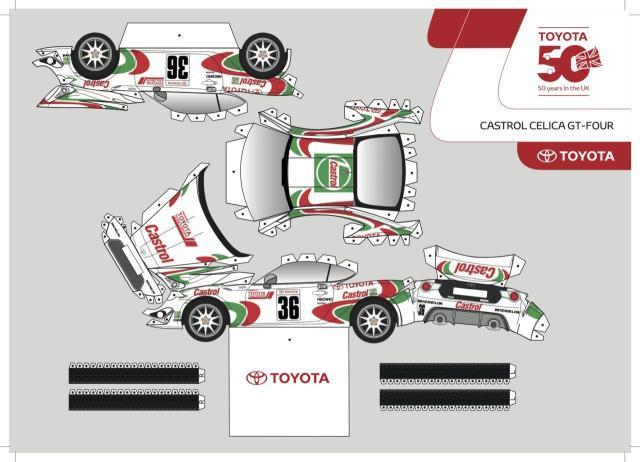 Toyota GT86 z papieru