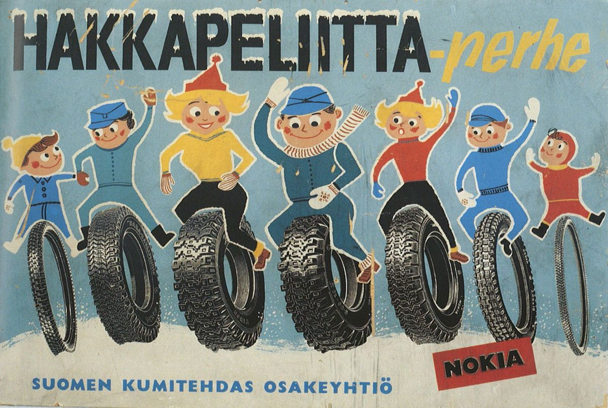 Nokian Hakkapeliitta Reklama