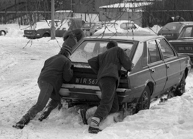 Zima dawniej i dziś