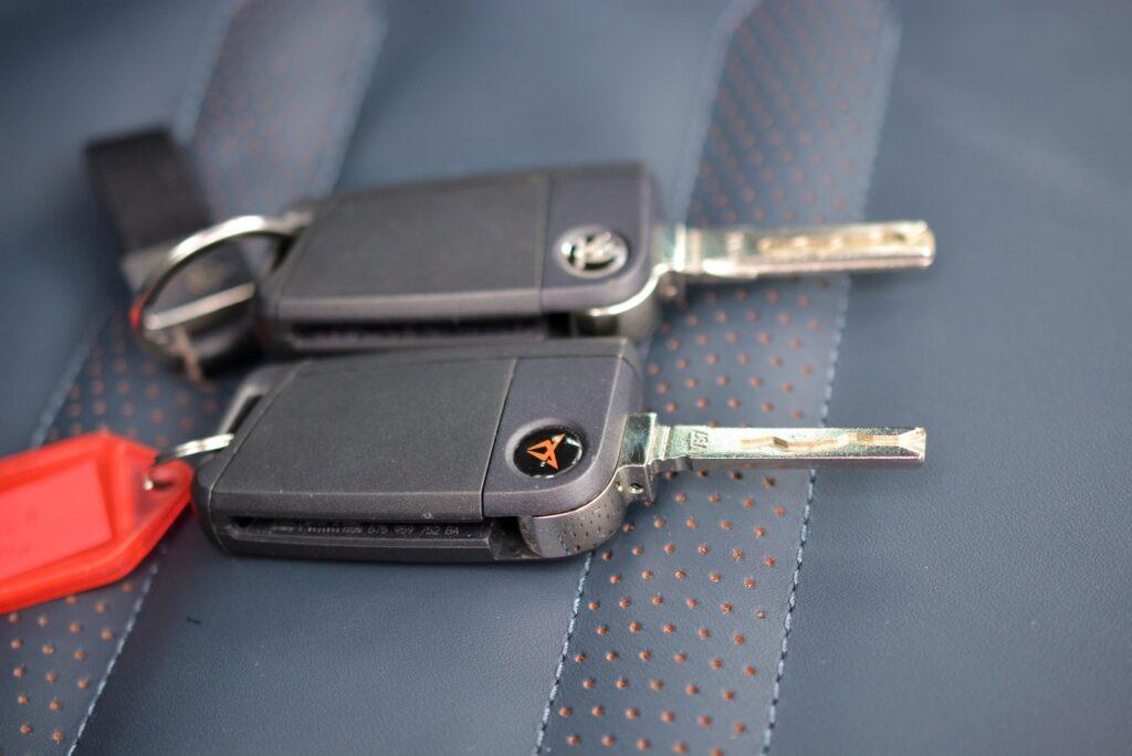 Cupra Ateca  kluczyk