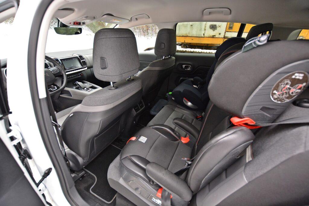 Fotele Citroen C5 Aircross