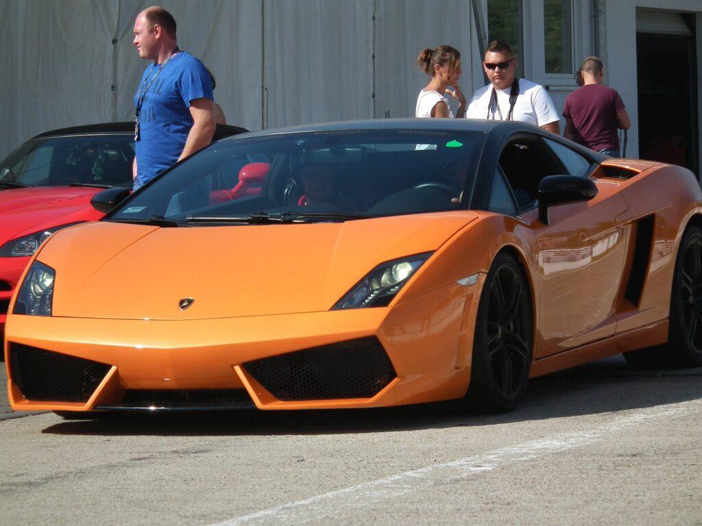 Lamborghini Gallardo na Track Day