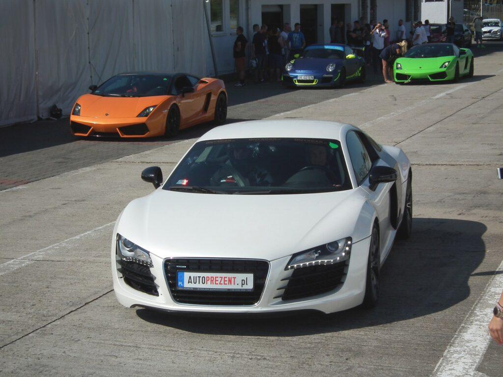 Audi R8 Track Day